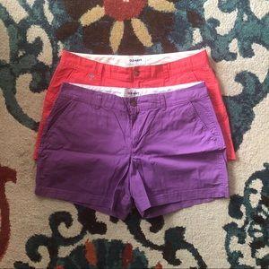 "Set of 2 Old Navy 5"" Shorts"